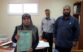 عملت 33 عاما في مهنة التدريس… المربية المتقاعدة ناهية جبارين  تحصل على اللقب الأول في العلوم الإسلامية في جيل 64