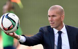 زيدان يتحدث عن تجديد تعاقده مع ريال مدريد