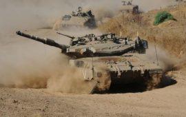 انقلاب دبابة إسرائيلية في الجولان وإصابة 3 جنود