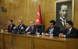أردوغان: تدخلات أمريكا وإسرائيل في باكستان وإيران مرفوضة