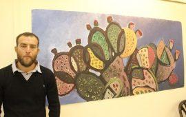 """الناصرة: افتتاح معرض """"من الداخل إلى الخارج""""  للفنان التشكيلي كريم أبو شقرة"""