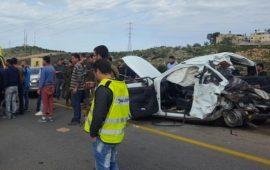 حادث طرق مروع قرب كفرقاسم يسفر عن مصرع شخص