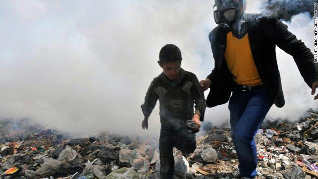 الشبكة السورية: النظام استخدم السلاح الكيماوي 211 مرة خلال الأزمة
