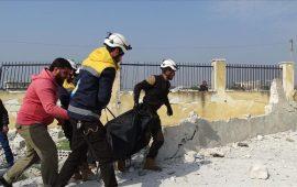 مقتل 10 مدنيين في قصف روسي جديد على إدلب شمالي سوريا
