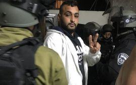 القدس: حملة اعتقالات واسعة في مخيم شعفاط تطال 20 مواطنًا