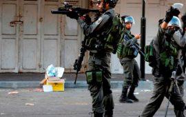 إصابات خلال مواجهات مع الاحتلال شمال نابلس