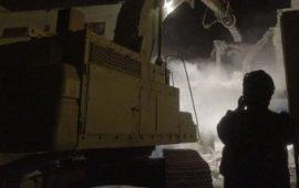 الاحتلال يهدم منزل الاسير قنبع بجنين