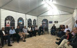 أم الفحم: تواصل نشاطات خيمة الاعتصام المناهضة للعنف ووقفة احتجاجية للطلاب