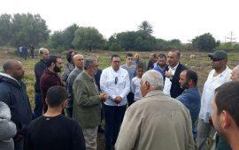 """أهالي المدفونين في مقبرة """"القسام"""" يتصدون لنبش قبور موتاهم"""