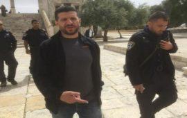 الاحتلال الإسرائيلي يُبعد موظف أوقاف عن المسجد الأقصى