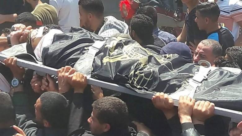 سرايا القدس تشيع جثامين شهدائها برفح