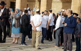 67 مستوطنًا يهوديًا يقتحمون المسجد الأقصى