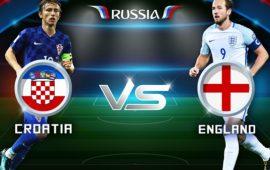 كرواتيا تتغلب على إنجلترا في المونديال