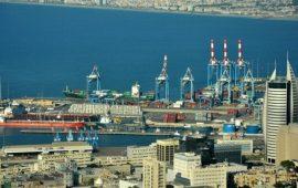 تسرب غاز البروم من خزان كيماويات في ميناء حيفا