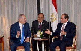"""قناة 10: نتنياهو التقى السيسي بالقاهرة سرًا لبحث """"تسوية بغزة"""""""