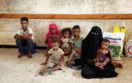 الحرب تهدد خمسة ملايين طفل يمني بالمجاعة