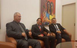 وفد المتابعة يلتقي رئيس مجلس حقوق الانسان والمقرر الخاص في شؤون الاقليات في الأمم المتحدة