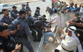 الاحتلال يعتدي على المعتصمين في الخان الأحمر