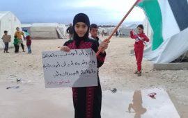 دير بلوط في حلب.. نكبة اللجوء في عواصف الشتاء