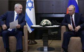 نتنياهو: سأبحث مع بوتين الوجود الإسرائيلي في الجولان