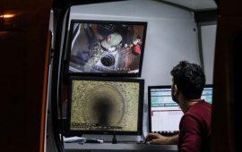 خبراء يفحصون شبكة الصرف الصحي في شارع القنصلية السعودية بإسطنبول