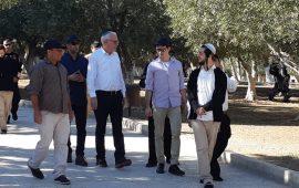 وزير الزراعة الإسرائيلي يقتحم الأقصى مع عشرات المستوطنين