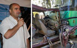 """مصرع الأسير المحرر وسام خليل من """"البعينة نجيدات"""" وإصابة زوجته بحادث طرق"""