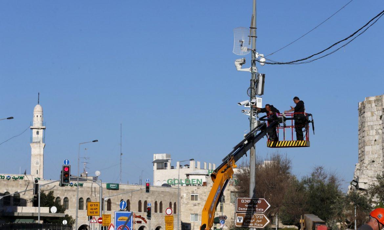 """""""عين القدس"""".. 500 كاميرا ذكية تتعقب تحركات الفلسطينيين"""
