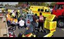 إصابة حرجة لمسنة في حادث سير وسط البلاد