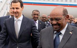 البشير يلتقي الأسد في زيارة مفاجئة إلى دمشق