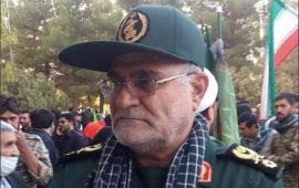 وفاة قائد عسكري إيراني إثر إصابته بطلق ناري