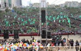 """كيف تناولت الصحافة العبرية مهرجان انطلاقة """"حماس""""؟"""