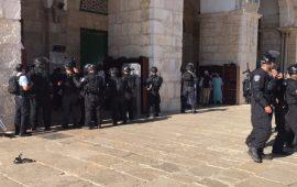 الاحتلال يفرض قيودًا على المصلين بليلة القدر في الأقصى