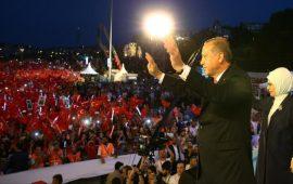 أردوغان: انقلاب 15 تموز أكبر محاولة خيانة واحتلال شهدتها تركيا