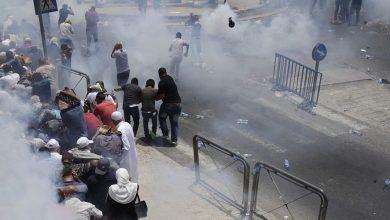 Photo of 21  إصابة في قمع الاحتلال للمدافعين الأقصى