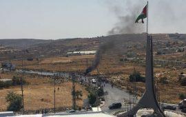 """إصابات بالرصاص الحي في مواجهات """"بيت إيل"""" شمال رام الله"""