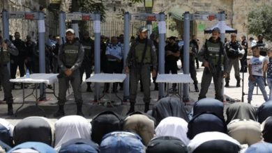 Photo of توصيات جديدة للشرطة الإسرائيلية بتفتيش المصلين الداخلين للأقصى