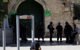 """المرجعيات الإسلامية في القدس تطالب بمقاطعة """"البوابات الإلكترونية"""""""