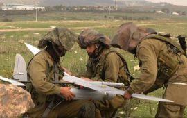 السلطة تعيد طائرة استطلاع إسرائيلية سقطت في نابلس