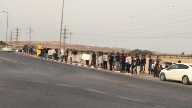 Photo of تظاهرتان في قرية بئر هداج احتجاجا على سياسة الهدم والترحيل