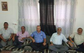 """وفد من لجنة """"المتابعة"""" في زيارة لأهالي المعتقلين الإداريين من معاوية وعرعرة"""