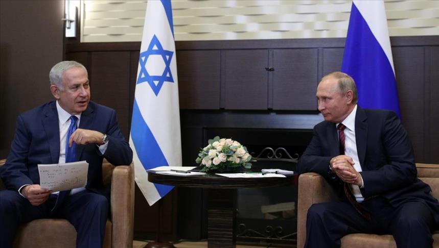 Photo of نتنياهو للرئيس الروسي: إيران تعزّز تواجدها في سوريا