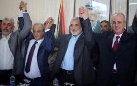 """وفدا حماس وفتح يصلان القاهرة لبحث تفاهمات تنفيذ """"المصالحة"""""""