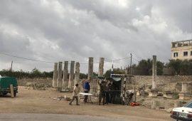 مواجهات باقتحام المستوطنين بلدة سبسطية