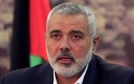 """هنية: إسرائيل لن تنجح في """"خلط الأوراق"""" أو فرض قواعد جديدة للمعركة"""