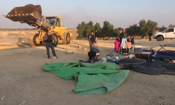Photo of آليات إسرائيلية تهدم العراقيب للمرة الـ 120