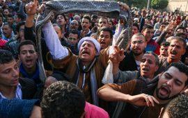إثر مقتل الكاهن بالقاهرة.. غضب قبطي وتهديدات للسيسي