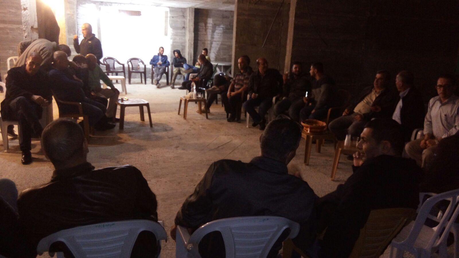 Photo of تواصل الفعاليات الاحتجاجية ضد هدم منزل عبد الله جزماوي من عارة