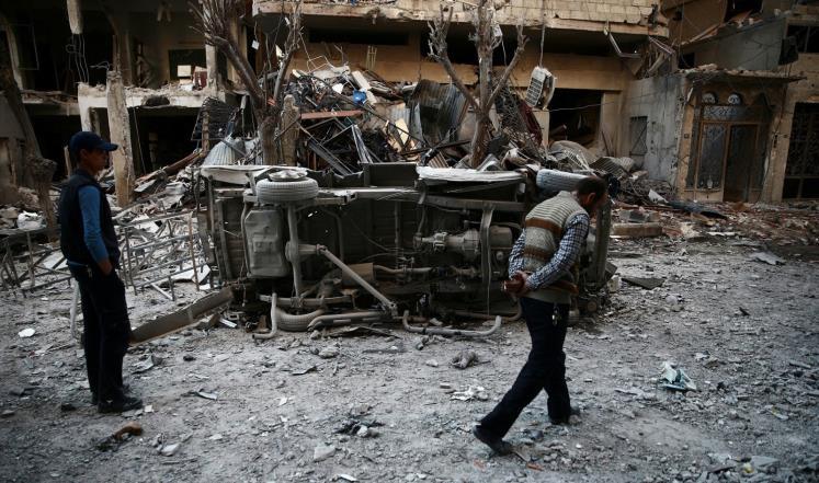 Photo of لوموند: الوضع بالغوطة الشرقية من سيئ إلى أسوأ