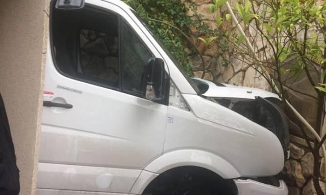 Photo of إصابة 14 طالبا في حادث طرق بالناصرة